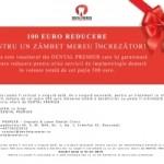 <FONT COLOR=RED><B>VOUCHER 100 EURO REDUCERE</B></FONT> la un tratament cu implant dentar in valoare de cel putin 500 euro – <B>DENTAL PREMIER BUCURESTI</B>