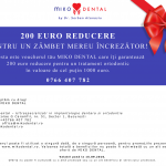 "<FONT COLOR='#ec1d25'><B>VOUCHER 200 EURO REDUCERE</FONT> – TRATAMENT ORTODONTIC – <FONT COLOR=""#888"">MIKO DENTAL BUCURESTI</FONT></B>"